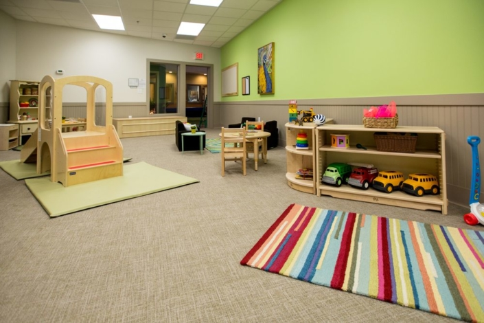 Children's Discovery Center playroom