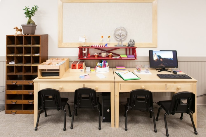 Children's Discovery Center study table