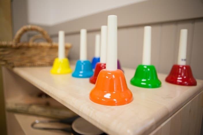 Children's Discovery Center ice cream bell