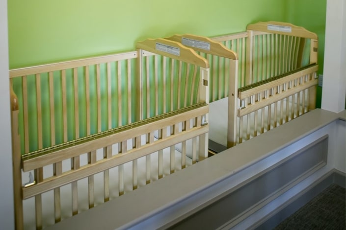 Children's Discovery Center crib