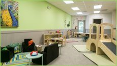 Children's Discovery Center toddler room