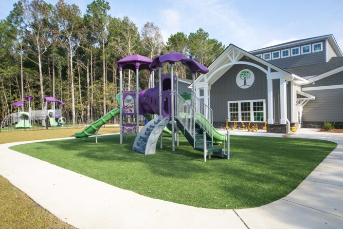 Children's Discovery Center outdoor playground