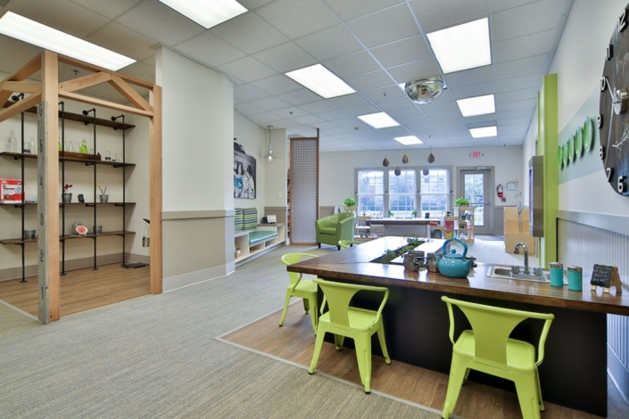Children's Discovery Center kitchen room